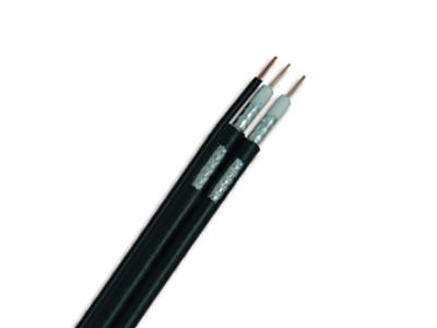 RG6 Dual With Messenger Coaxial Cable