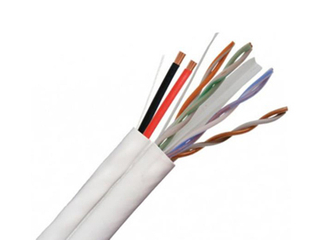 UTP CAT6+2C CCTV SIAMESE Cable